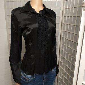 Designerbluse Blusenhemd Bluse mit Jabot Stefanel M