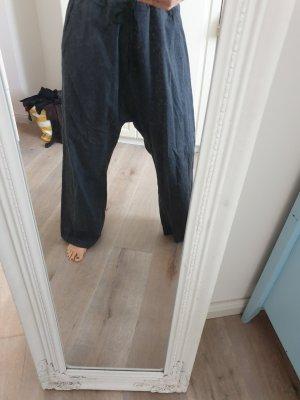 Pantalón estilo Harem gris antracita