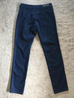 Comptoir des Cotonniers Straight Leg Jeans dark blue cotton