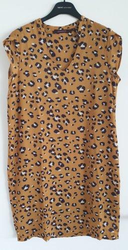 Designerkleid, Cocktailkleid, la fée maraboutée, Leo Print, Made in Italy, Gr. 36