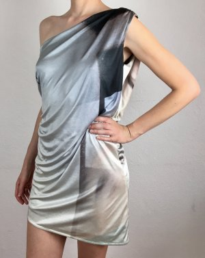 NIQUE Sukienka na jedno ramię Wielokolorowy