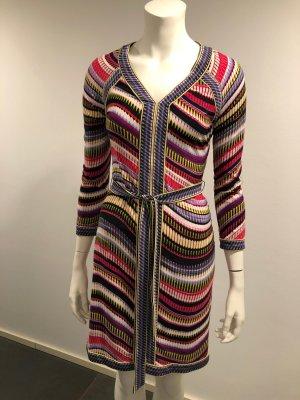 BCBG Maxazria Midi-jurk veelkleurig Viscose