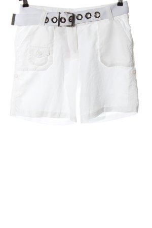 Designers Bermuda weiß Elegant