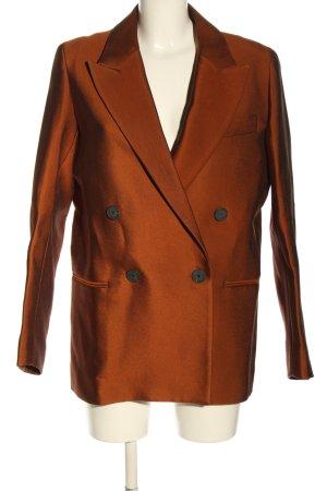 Designers Remix Charlotte Eskildsen Long-Blazer bronzefarben Business-Look