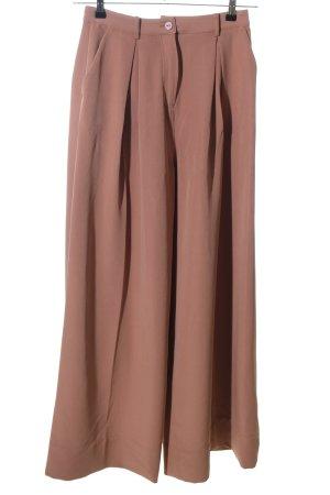 Designers Remix Charlotte Eskildsen Pantalón anchos marrón estilo «business»