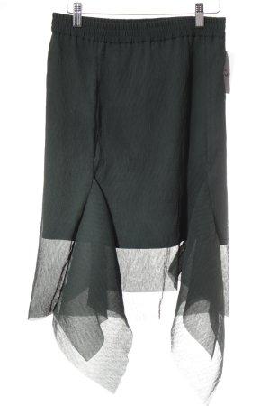 Designers Remix Charlotte Eskildsen Midirock dunkelgrün extravaganter Stil