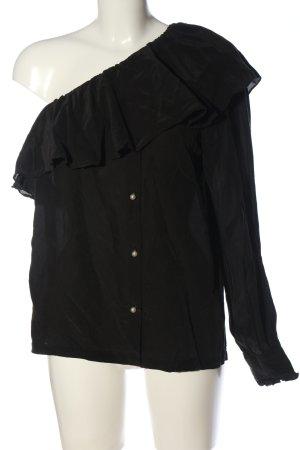 Designers Remix Charlotte Eskildsen One Shoulder Shirt black casual look