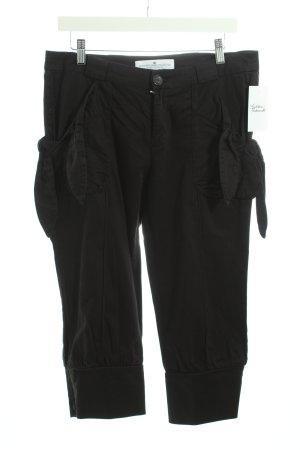 Designers remix collection Pantalon 3/4 noir tissu mixte