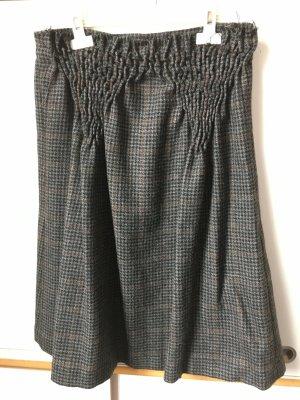 Designers Remix Charlotte Eskildsen Jupe en laine gris foncé laine