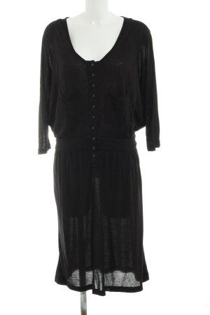 Designers remix collection Robe en jersey noir style décontracté