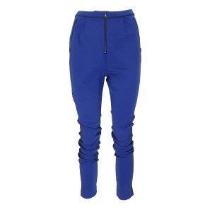 Designers remix collection Joggingbroek blauw-zwart Wol