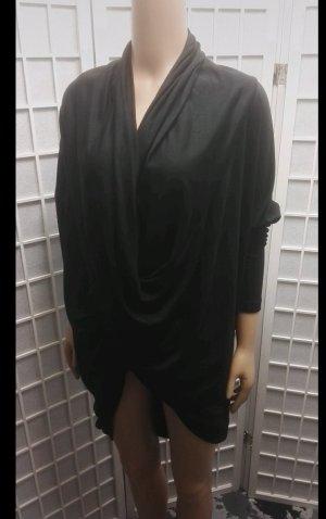 Tigha Cowl-Neck Shirt black