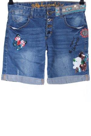Desigual Jeans a 3/4 blu stile casual