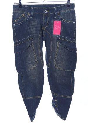 Desigual 7/8 Jeans blau Casual-Look