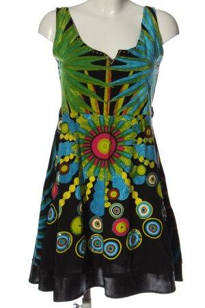 Desigual A-Linien Kleid Allover-Druck Casual-Look