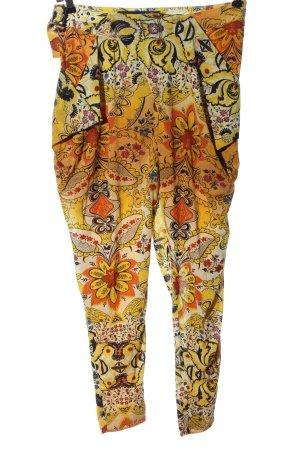 Desigual Pantalon «Baggy» imprimé allover style décontracté
