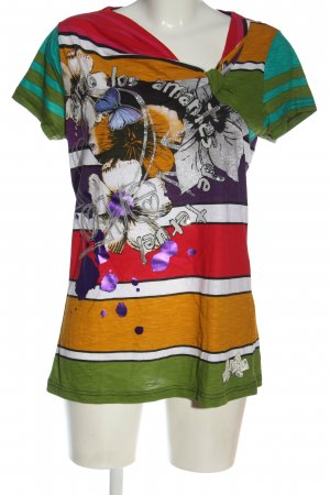 Desigual T-shirt motivo floreale stile casual