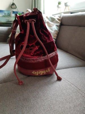 Desigual Pouch Bag bordeaux