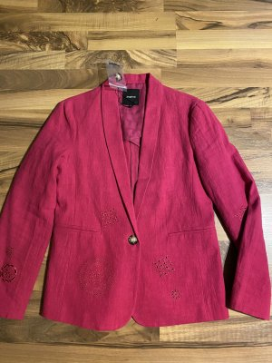 Desigual Korte blazer roze