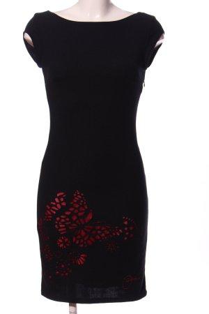 Desigual Pencil Dress black-red elegant