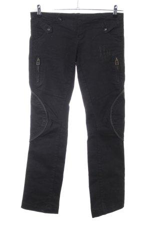 Desigual Boot Cut Jeans schwarz Casual-Look
