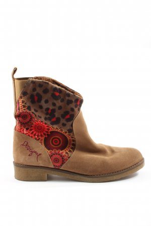 Desigual Booties grafisches Muster Casual-Look