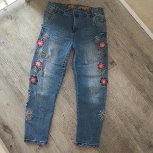 Desigual Boyfriend jeans veelkleurig Katoen