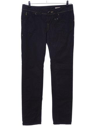 Desigual Cargo Pants black flower pattern casual look