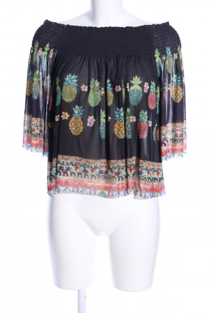 Desigual Carmen-Bluse grafisches Muster Casual-Look