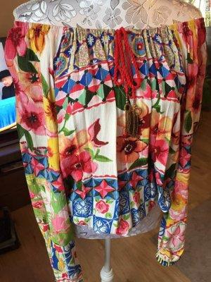Desigual Carmen blouse veelkleurig
