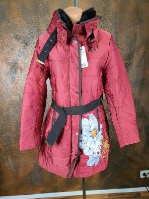 desigual Daunen Mantel Rot 40