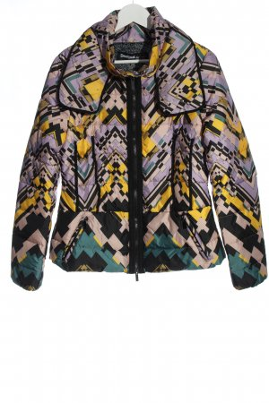 Desigual Down Jacket allover print casual look
