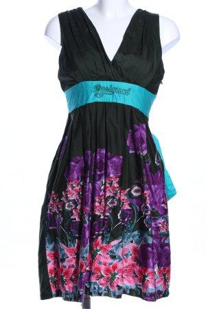 Desigual Empire Dress flower pattern casual look