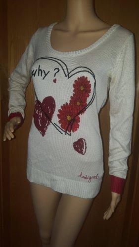 Desigual Knitted Sweater cream