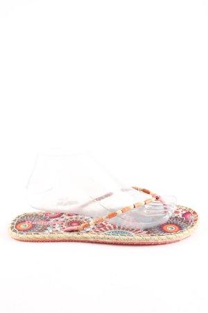 Desigual Flip Flop Sandalen Blumenmuster Casual-Look