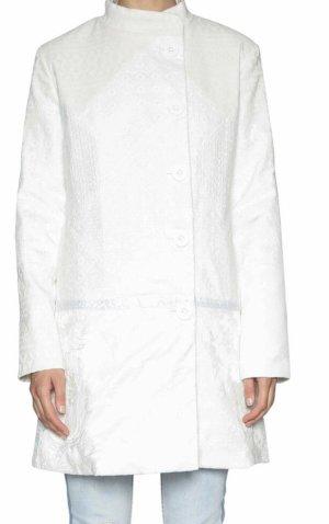 Desigual Frühlings -Mantel in weiß
