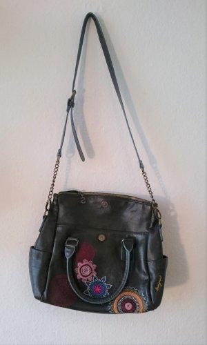 Desigual Handtasche / Schultertasche mit schönem floralem Muster