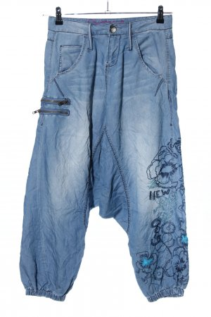 Desigual Haremshose blau Casual-Look