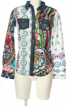 Desigual Hemd-Bluse Mustermix Casual-Look
