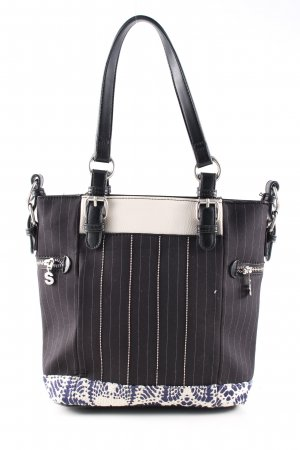Desigual Carry Bag striped pattern business style