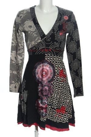 Desigual Robe Hippie motif abstrait style décontracté