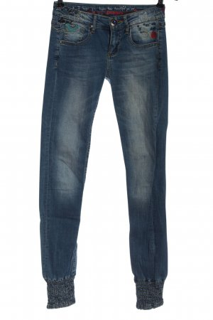 Desigual Low Rise Jeans blue casual look