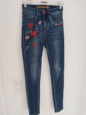 Desigual Jeans skinny blu