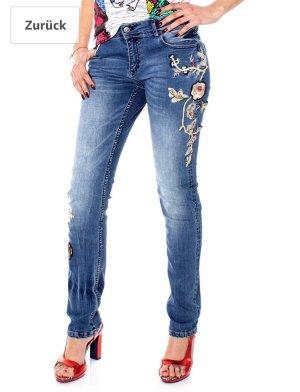 Desigual Jeans Barcelona Flowers