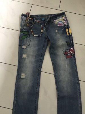 Desigual Jeans blau Gr. 28 wie Neu!