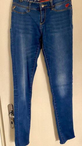 Desigual Jeans skinny blu fiordaliso