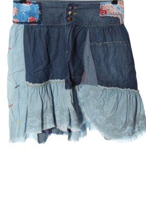 Desigual Gonna di jeans blu stile casual