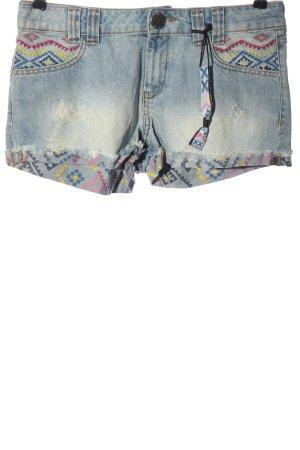 Desigual Jeansshorts blau Casual-Look