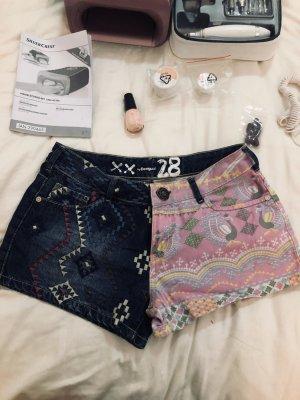 Desigual Denim Shorts multicolored