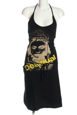 Desigual Jerseykleid Motivdruck Casual-Look
